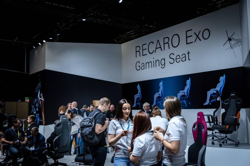 RECARO-Stand auf der Gamescom 2019
