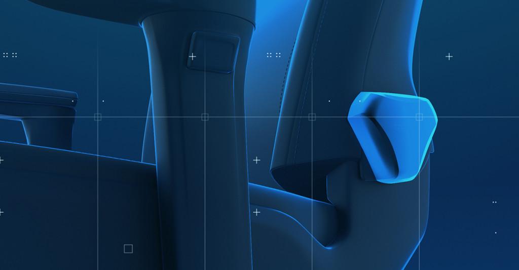 Eines der beiden Handräder des RECARO Exo Gaming Sitzes um die Rückenlehne individuell und stufenlos einzustellen.