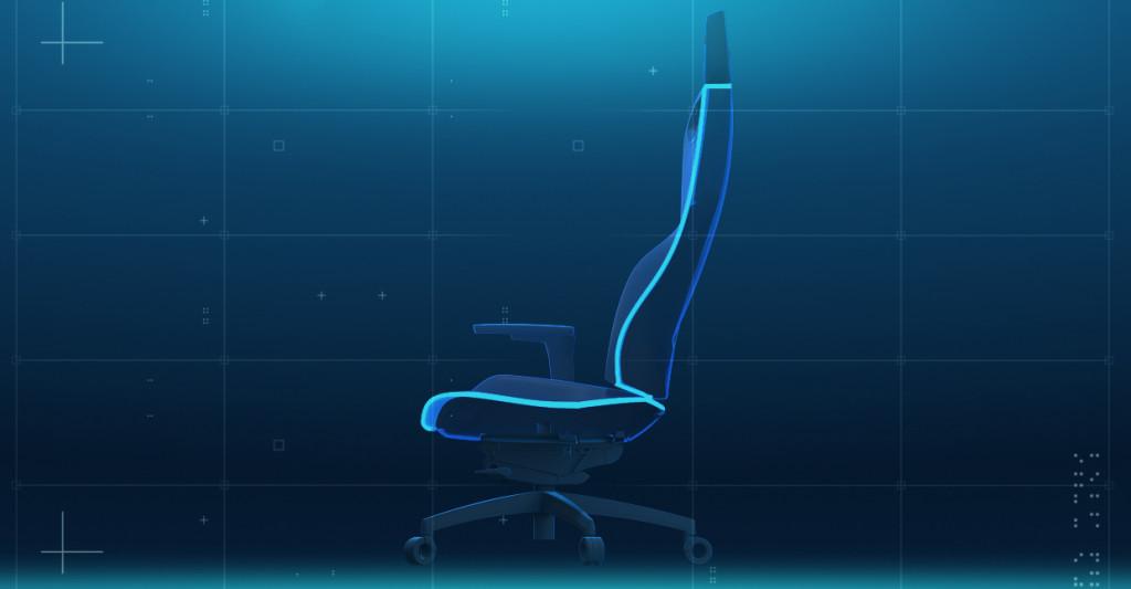 Der RECARO Exo Gaming Seat setzt bei der Materialauswahl auf Stoffe für lange Haltbarkeit und Atmungsaktivität.